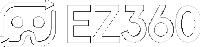 EZ360 logo white