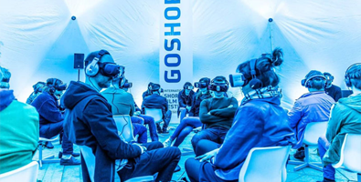 VR experience at events